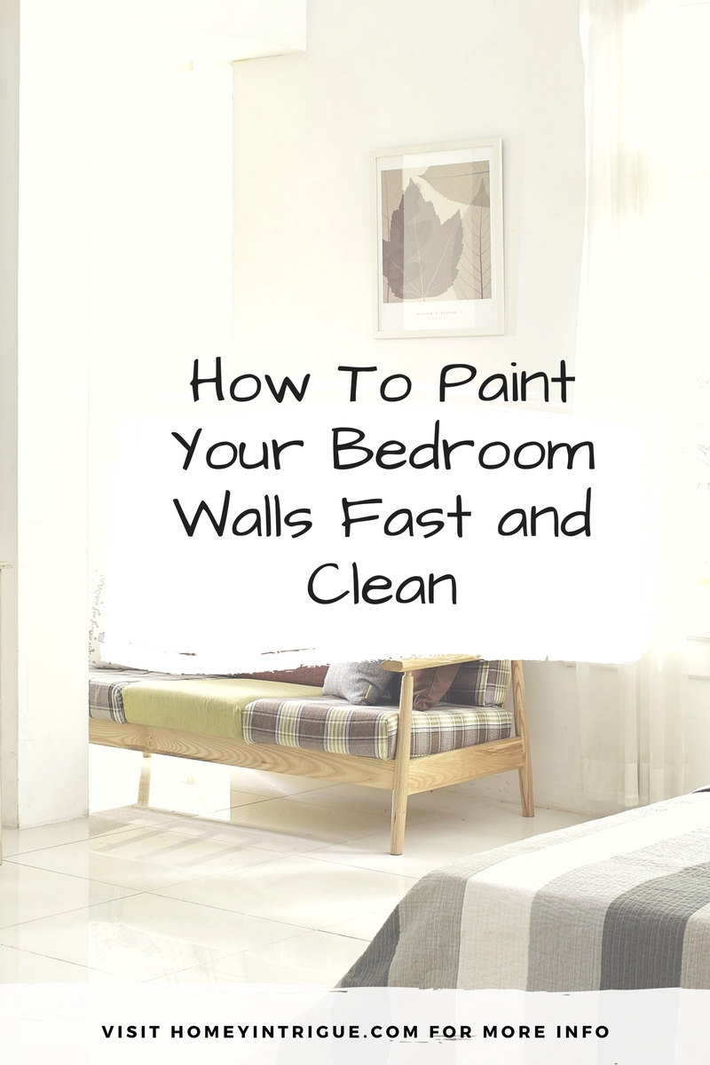Tools needed to paint a room - How To Paint Your Bedroom Walls Fast And Clean